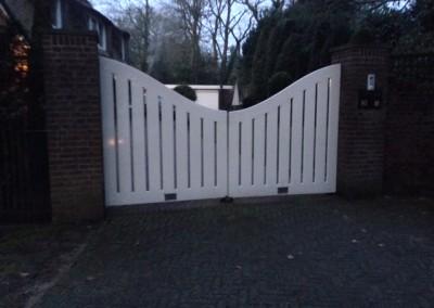 Bouwbedrijf Schippers nieuw poort plaatsen Oosterbeek