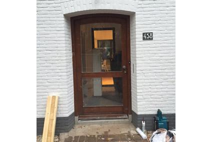 Nieuwe voordeur Nijmegen