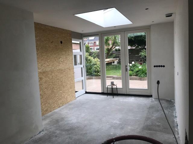 Verbouwing in Nijmegen
