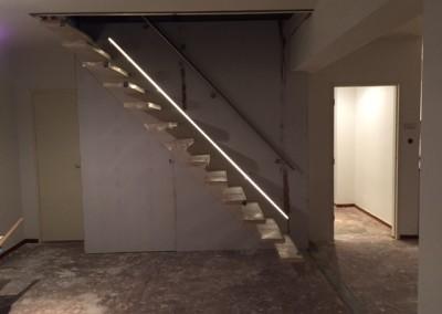 Bouwbedrijf Schippers Maken van trap sparing En plaatsen van een zwevende trap van bamboe_12